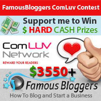 famousbloggers comluv contest
