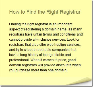 registrar reviews