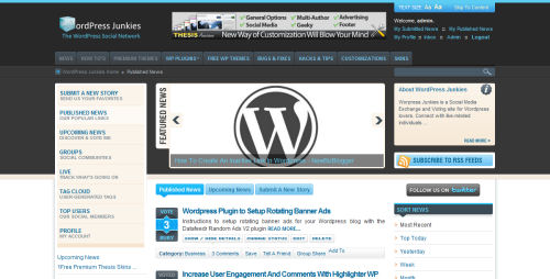 WordPress Social Network WPJ