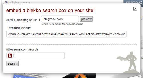 blekkogear search