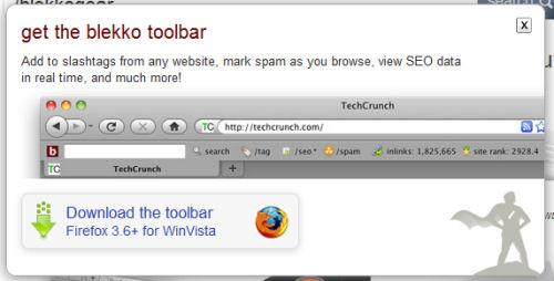 blekkogear toolbar
