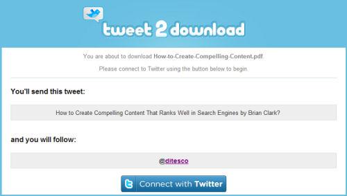 tweet2download review