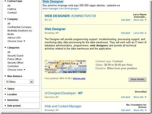 Search Results Web Designer