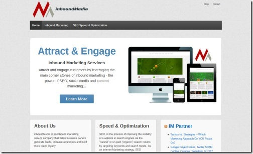 Best wordpress responsive themes 2012 your business going mobile responsive wordpress theme accmission Choice Image