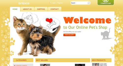 ditesco online pet shop