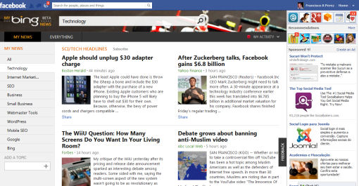 My Bing News