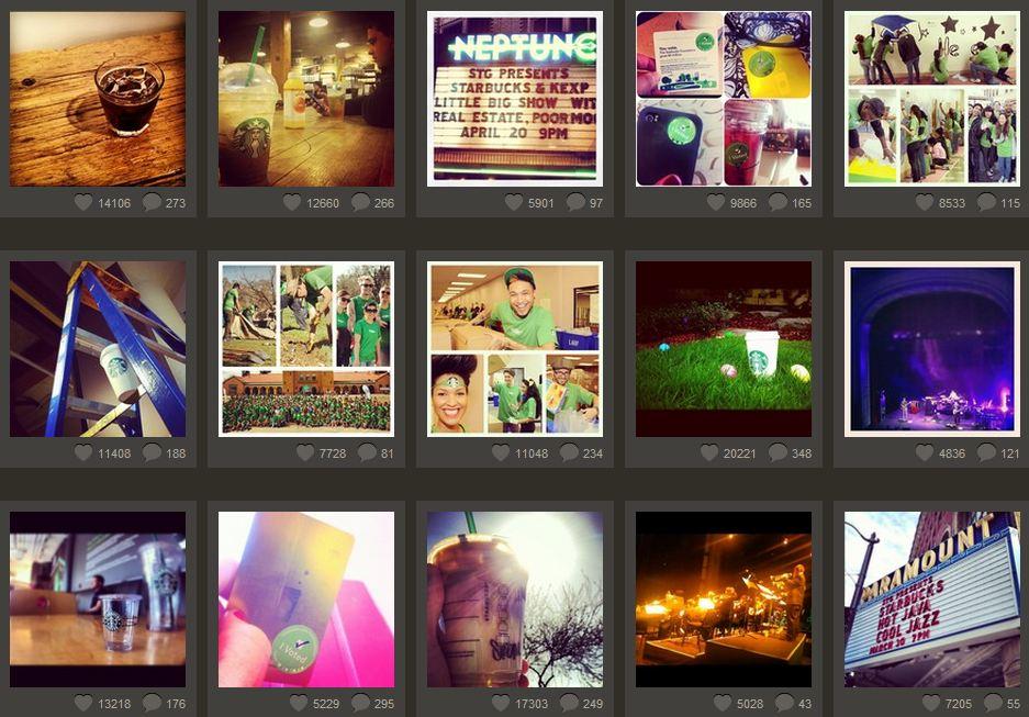 Instagram - Starbucks