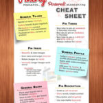 Pinterest Cheat Sheet and Tips to Better Use the Network