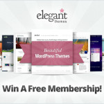 WordPress Elegant Themes Lifetime Membership Giveaway [Over]