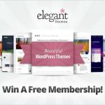WordPress Elegant Themes Lifetime Membership Giveaway [Over]