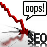 top SEO mistakes 2013