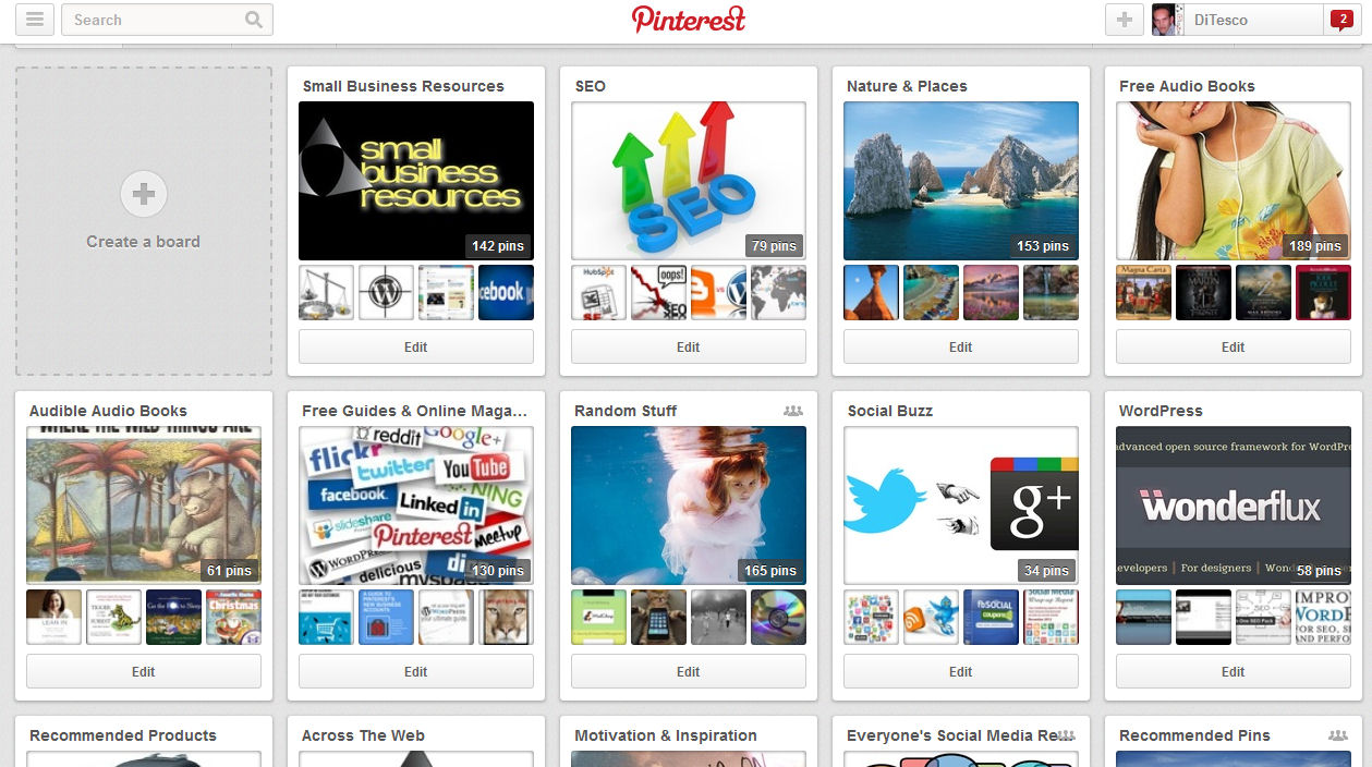 Pinterest Visual Social Marketing