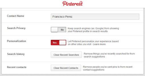 Pinterest Tracking