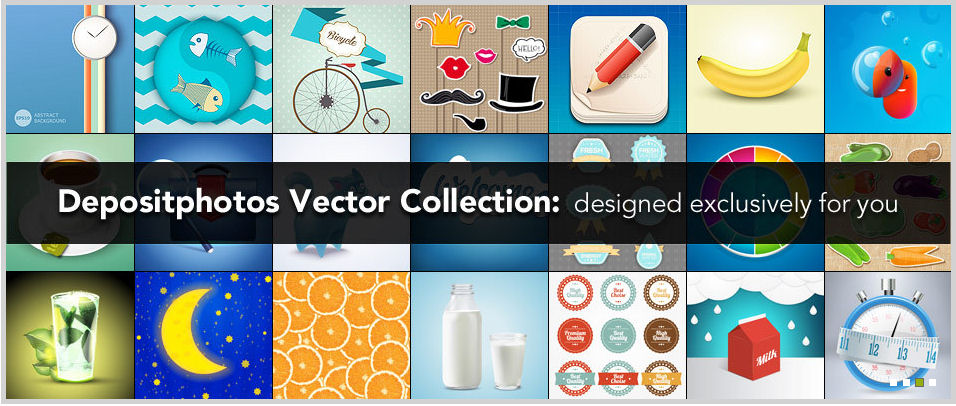 depositphotos vector collection