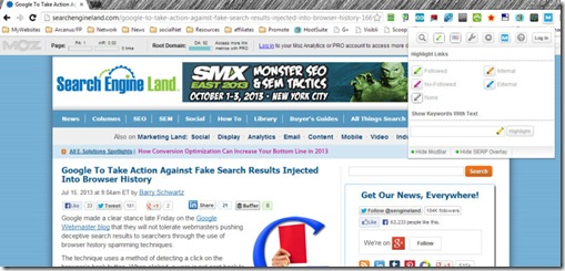 mozbar extension searchengineland