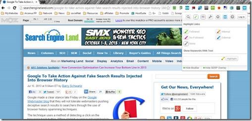 mozbar extension searchengineland