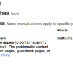 Google Manual Actions, Types of SPAM, Data Board, Addon Domains, Speedlink 32:2013