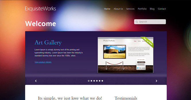 exquisiteworks themefuse theme