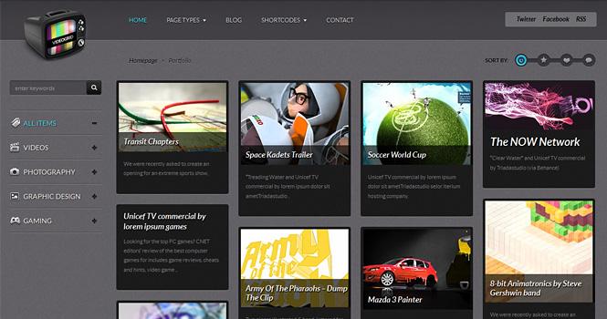 videogrid premium wp theme