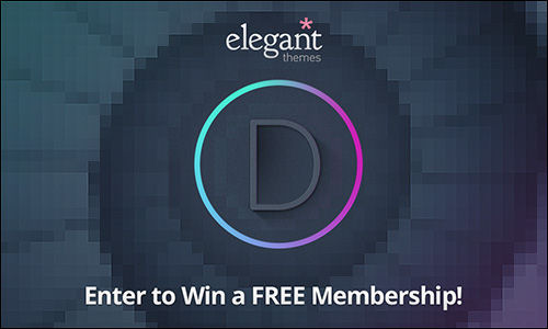 Divi Elegant Themes Membership Giveaway
