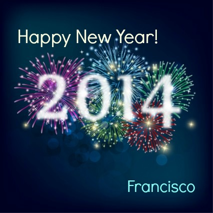 happy new year 2014 FP