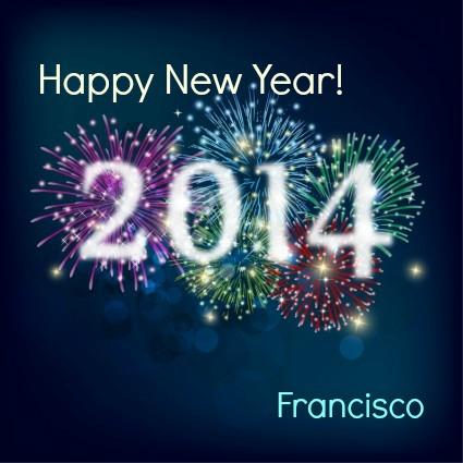 happy new year 2014 FP