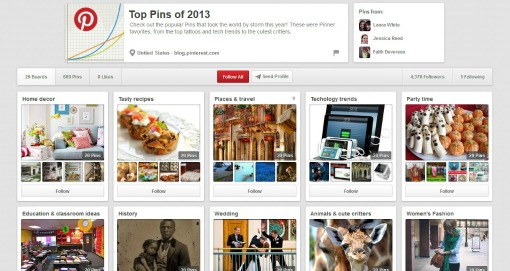 top pins 2013 pinterest