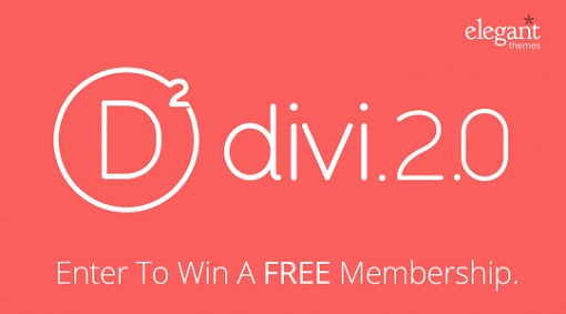 New Divi 2.0 From Elegant Themes – #Giveaway