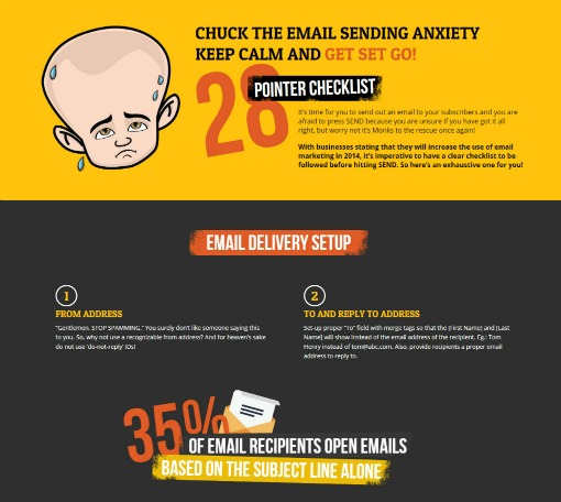 Overcome the Email Sending Anxiety with this Email Delivery Checklist!