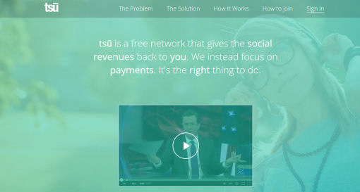 Tsu Social Network Get Paid