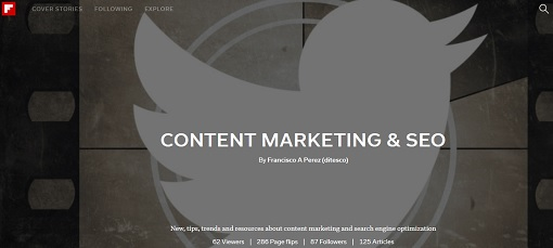 Content Marketing Flipboard