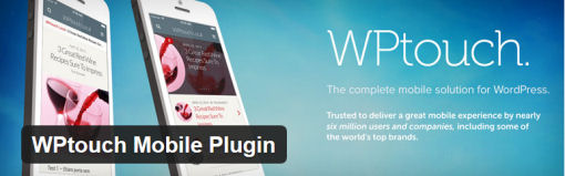 WPTouch WordPress Mobile Friendly Plugin