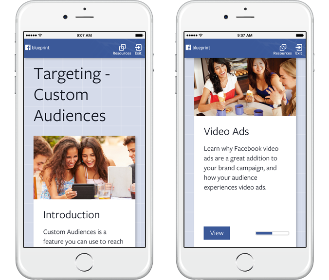 learning facebook for marketers