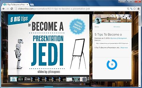SlideOnline presentation
