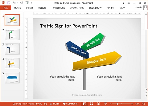 Best websites for free powerpoint templates presentation backgrounds traffic sign powerpoint template toneelgroepblik Gallery