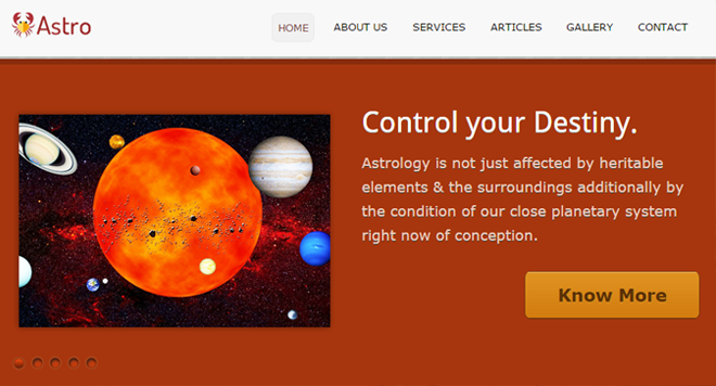 Astrologer WP Theme