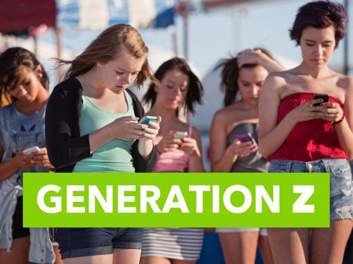 Generation Z shoppers