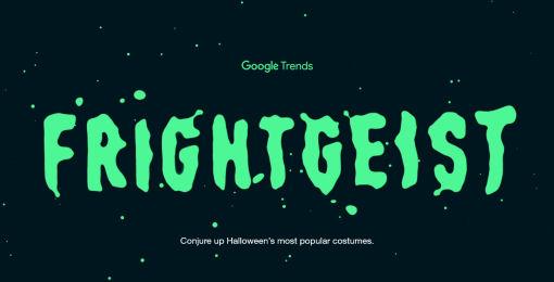 Google Trends Frightgeist 2015
