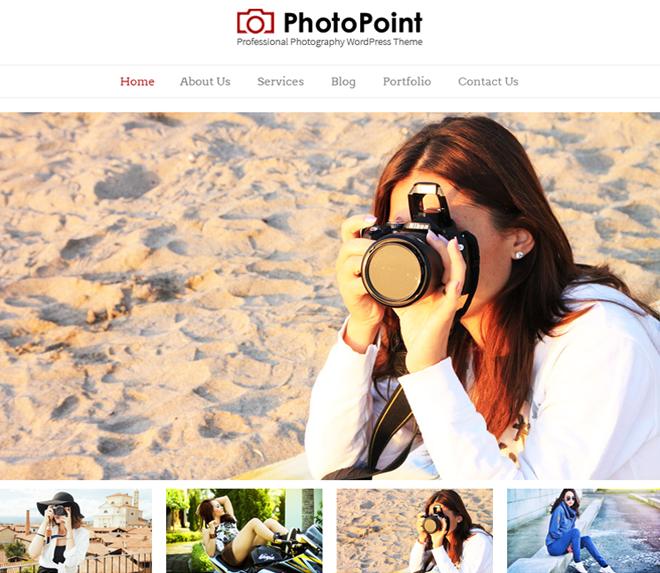 PhotoPoint WordPress Theme