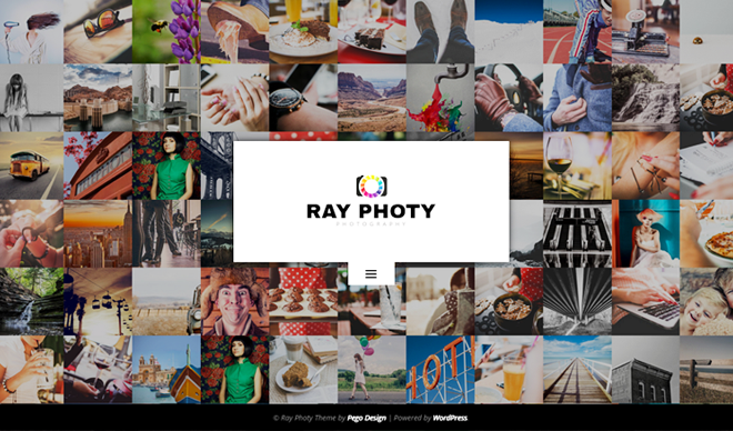 RayPhoty WordPress Theme