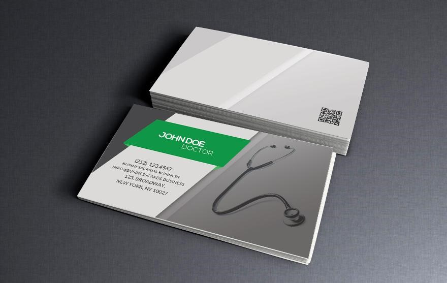Create your own professional business card with photoshop free psd business card fbccfo Image collections