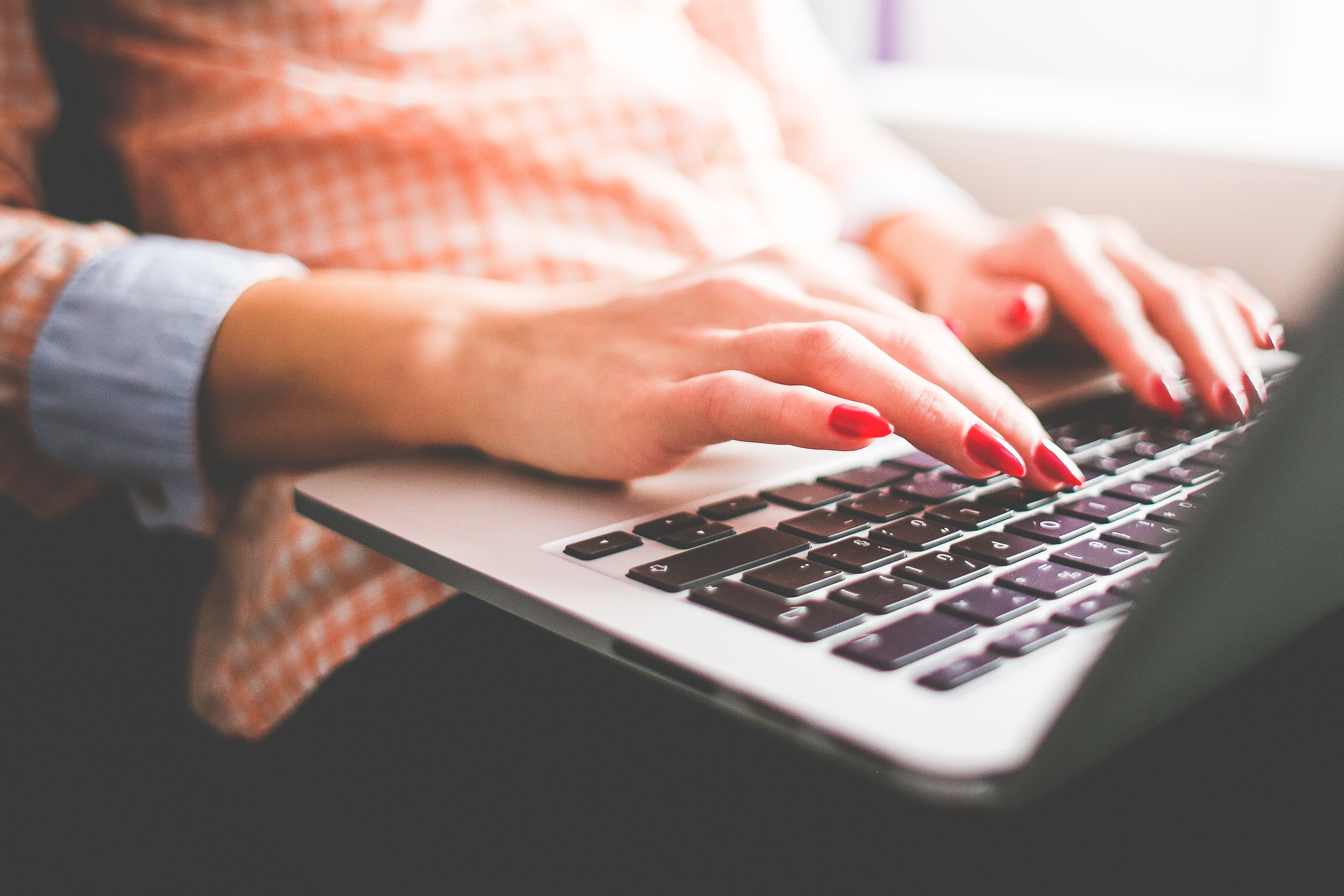 Blogging Beginner Woman
