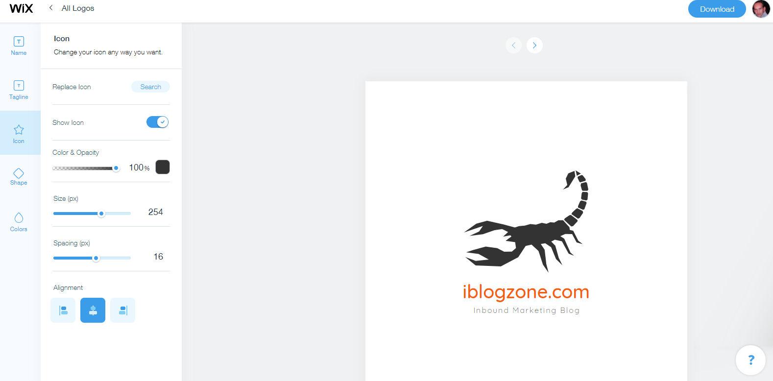 create logo 8