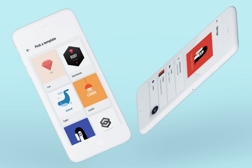 visual app branding